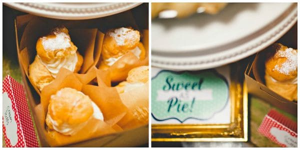 Cream Puffs - Sweet As Pie Birthday Party