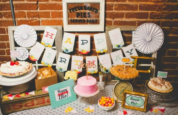 Sweet As Pie Party Theme