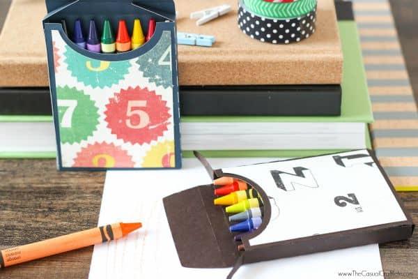 DIY Crayon Box Tutorial