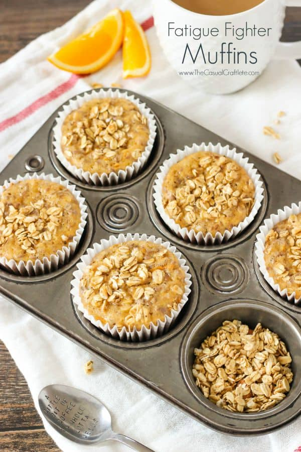 Fatigue Fighter Muffins