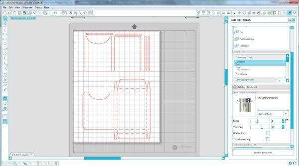 Silhouette Crayon Box Cut File