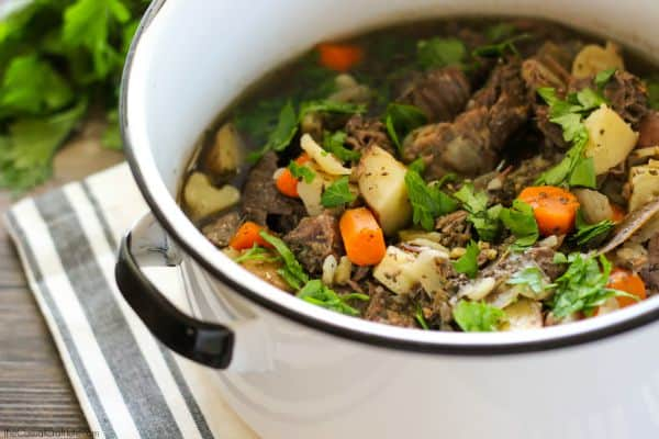 Easy To Make Slow Cooker Beef Stew Recipe A Cleaning Eating Dinner