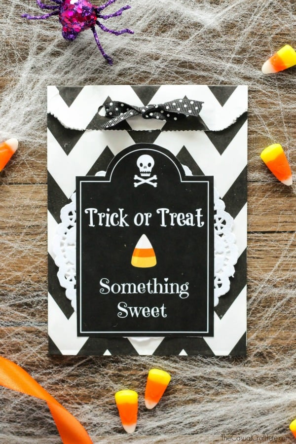 Halloween Treat Ideas with free printable