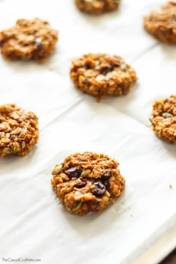 Oatmeal Pumpkin Cookies