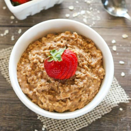 PB2 Chocolate Oatmeal