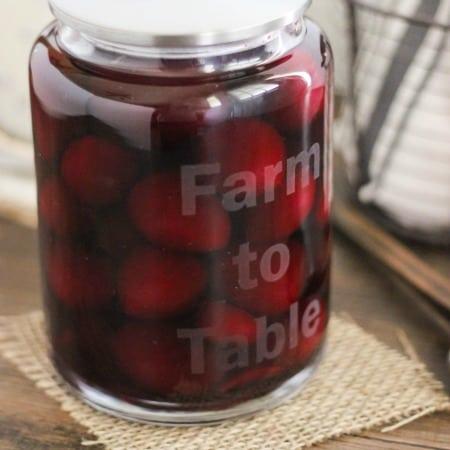 Easy Etch Glass Jar