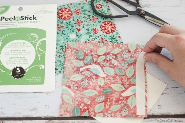 DIY Fabric Gift Bag
