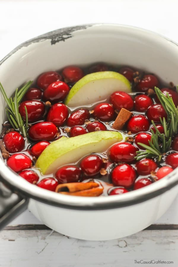 Homemade Holiday Stove Top Simmer