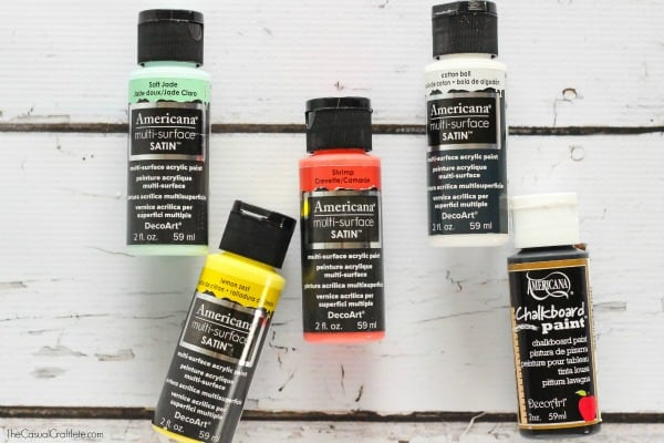 Americana Multi-Surface Satin Paint and Chalkboard Paint