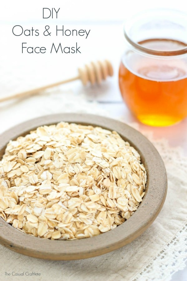 DIY Oats and Honey Face Mask