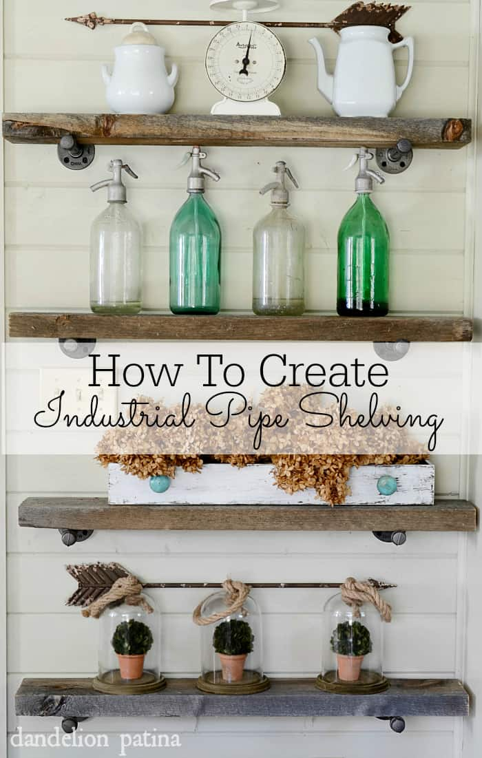 How-to-create-industrial-pipe-shelving-DIY