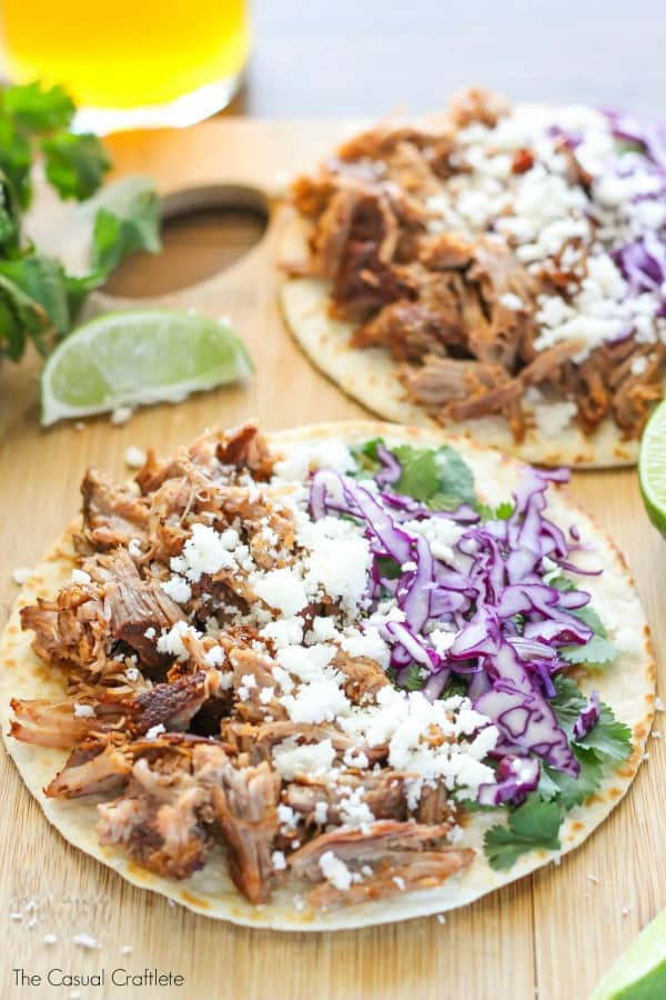 The Best Pulled Pork Tacos Ever!