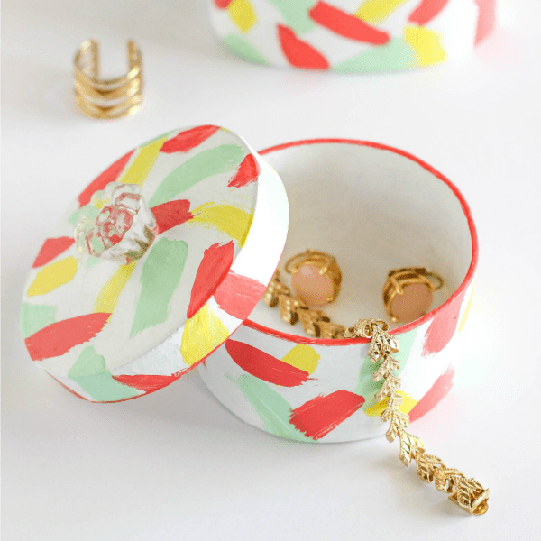 DIY Mini Trinket Boxes