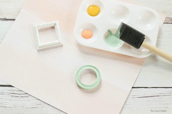 DIY Mini Frame Magnets
