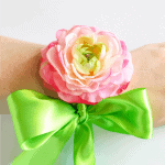 feature image - DIY Floral Wrist Corsage