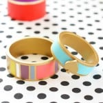 featured image - DIY Kate Spade Inspired Bangles