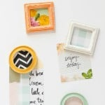 featured image - DIY Mini Frame Magnets