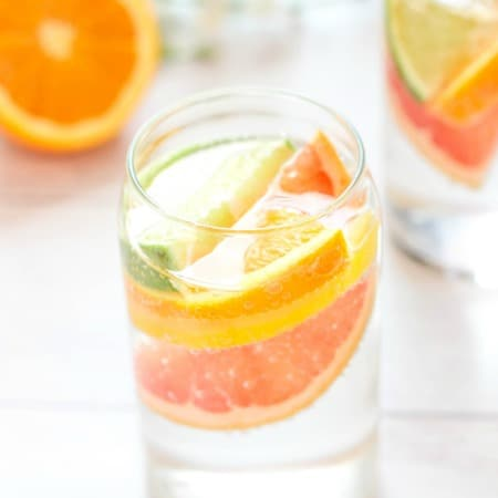 Sparkling Citrus Coconut Water