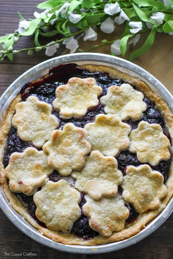 Dark Cherry Pie Filling - easy and delicious homemade pie filling with dark cherries and a few simple ingredients. Everything tastes better from scratch!