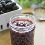 featured image - Blackberry Vanilla Jam