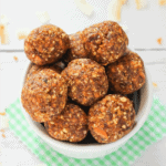 featured image - Clean Eating Carrot Cake Bites