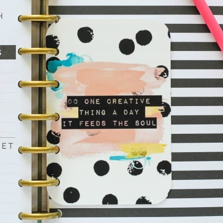Free Printable Planner Quote