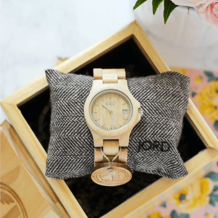 featured image - JORD wood watch