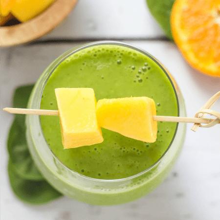 Mango Orange Green Smoothie