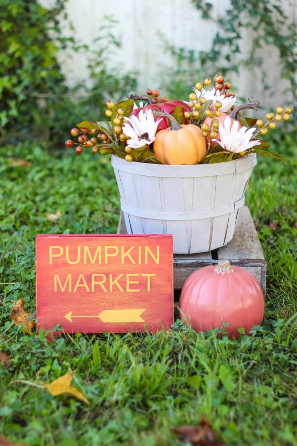 diy home decor for fall diy pumpkin market fall decor 12088