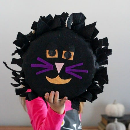 Halloween Felt Black Cat