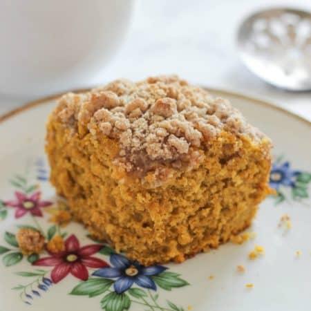 Pumpkin Crumb Coffee Cake