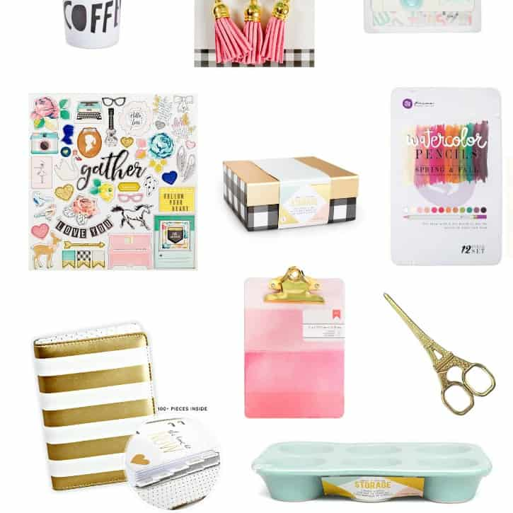 Gift Guide for Cute Crafters on a Budget