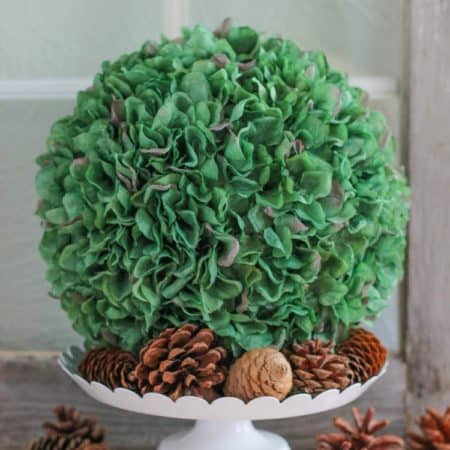 Easy to Make Hydrangea Ball