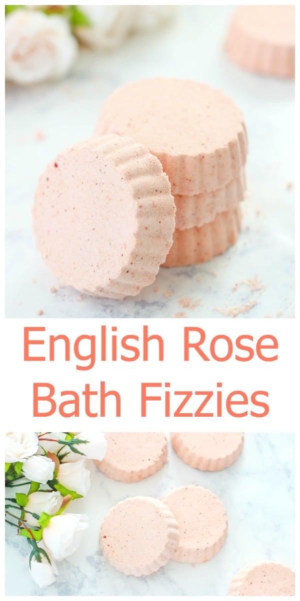 English Rose Bath Fizzies