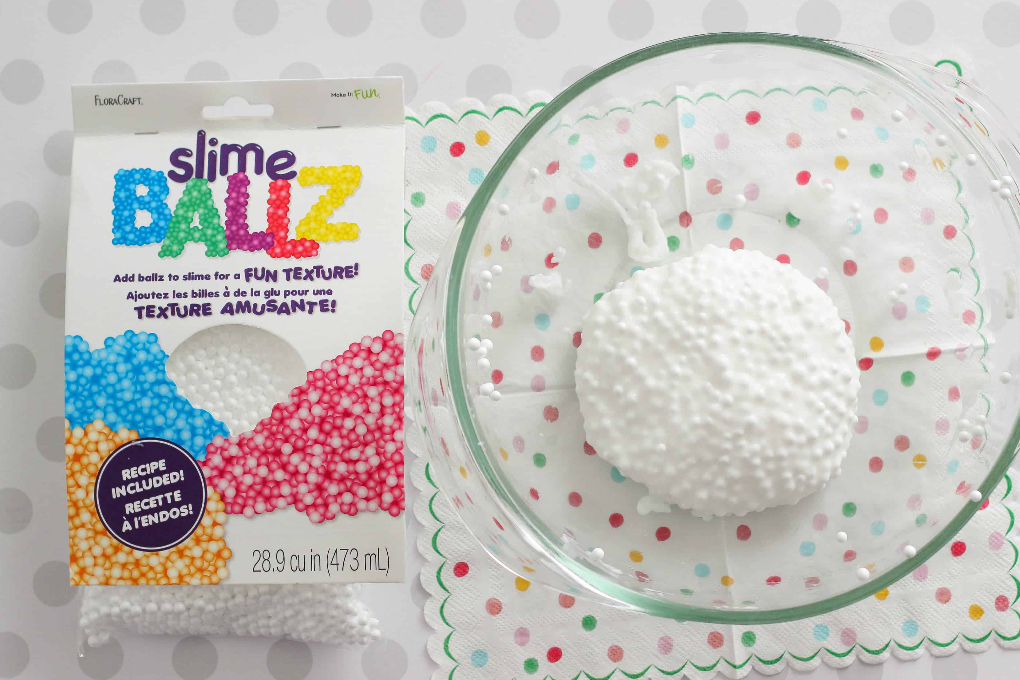 Create Cute Ice Cream Sundae Slime With A Fun Texture From Foam Micro Beads  This