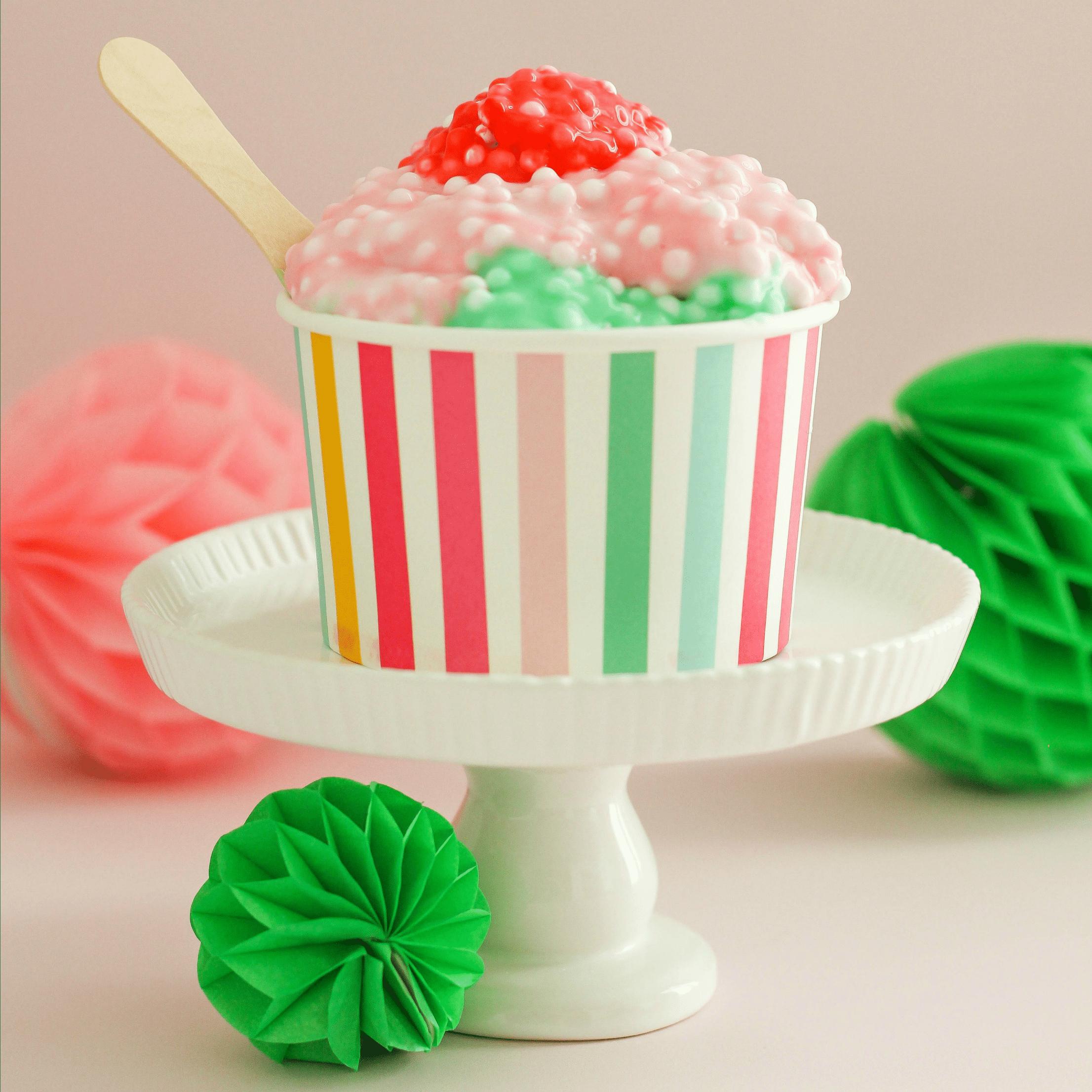Ice Cream Sundae Slime