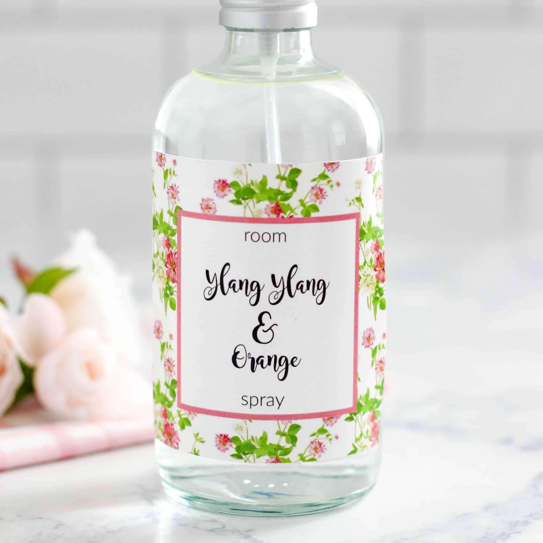 Ylang Ylang and Orange Room Spray