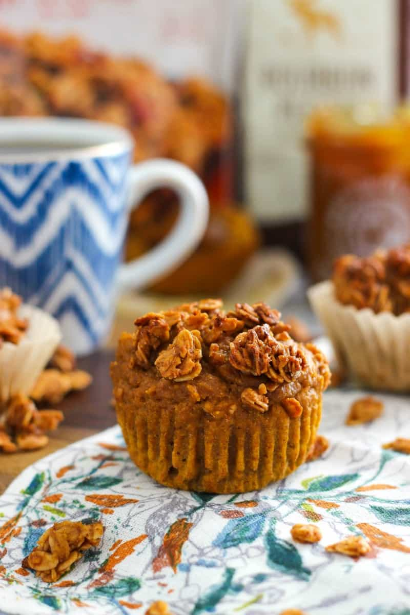 Pumpkin Granola Muffins with Maple Pumpkin Butter by @casualcraftlete for @worldmarket #worldmarket #ad #worldmarkettribe