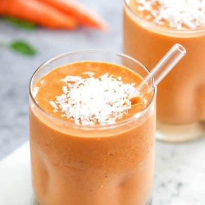 Carrot Cake Protein Smoothie