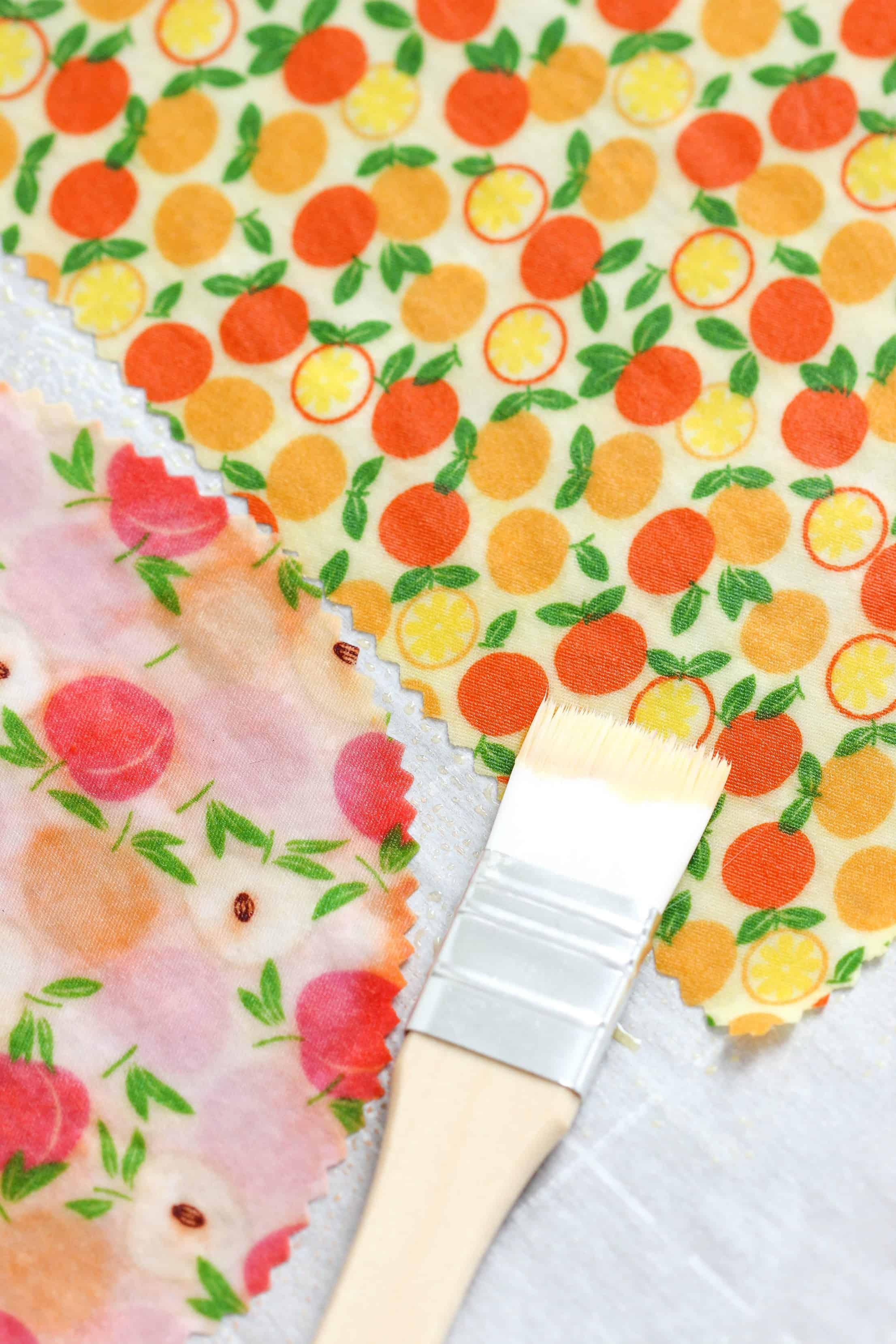 DIY Beeswax Cling Wraps - Purely Katie